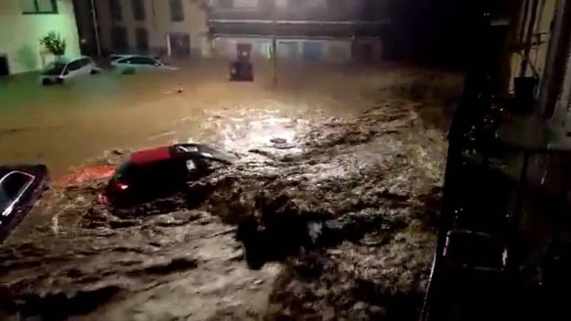 La tromba de agua en Mallorca dejó arrasado el municipio de San LLorenç des Cardassar