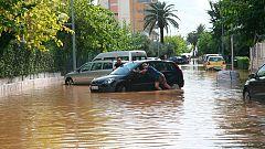 Cielos cubiertos y fuertes lluvias en prácticamente toda la Península