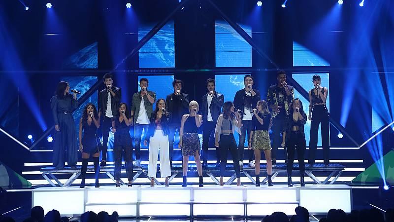 "OT 2018 - ""Viva la vida"", canción grupal en la gala 3"