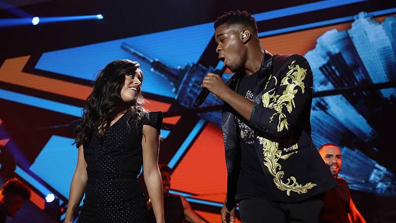 """OT 2018 - Famous y Noelia cantan """"What a fool believes"""" en la gala 3"""