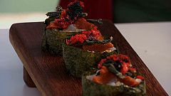 Torres en la cocina - Tartar de cigalas con algas