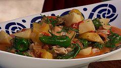 Torres en la cocina - Almejas y mejillones con cachuelos