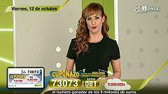 Sorteo ONCE - 12/10/18