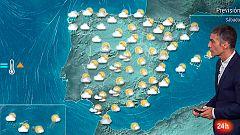 Intervalos nubosos y temperaturas en ascenso en todo el país
