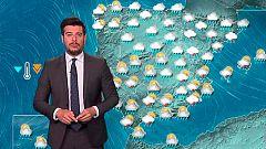 Lluvias, vientos fuertes y descenso notable de las temperaturas
