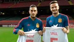 Koke, Saúl y el por qué lucen dorsales intercambiados en España y el Atlético