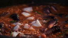 Torres en la cocina - Arroz caldoso de pulpo y percebes