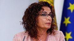 Montero acusa al PP de hacer unos presupuestos para 2018 con los que no se iba a cumplir con el déficit pactado