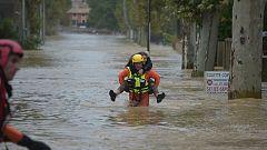 Las lluvias torrenciales en el sureste de Francia dejan al menos 13 muertos, según protección civil