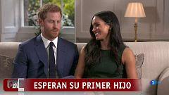 Corazón - Meghan Markle y el príncipe Harry esperan su primer hijo