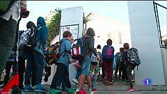 Tornada a l'escola després del temporal