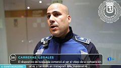 La Mañana - Dos VTC compiten ilegalmente en el polígono de Vallecas