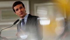 """Casado pide a Bruselas que exija a Sánchez """"lo mismo"""" que a Rajoy en los Presupuestos"""