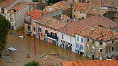 Los habitantes del sureste de Francia se recuperan tras el temporal que ha dejado al menos 11 fallecidos