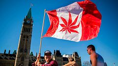 Canadá legaliza el consumo de marihuana para uso recreativo