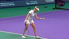Tenis - WTA Torneo Moscú (Rusia): V. Zvonareva - K. Pliskova