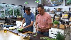 Torres en la cocina - Orzo al horno y rollitos de pavo