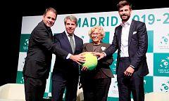 """Piqué se muestra """"positivo"""" con que Djokovic esté en la nueva Copa Davis"""