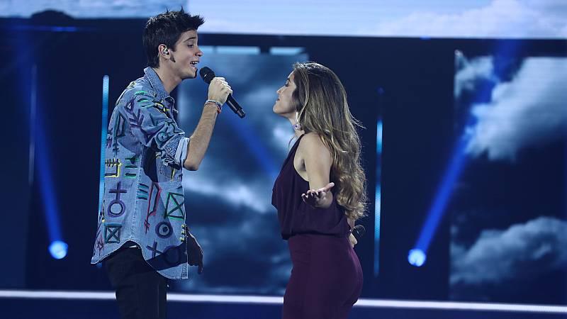 """OT 2018 - Julia y Dave cantan """"Vivir"""" en la gala 4"""