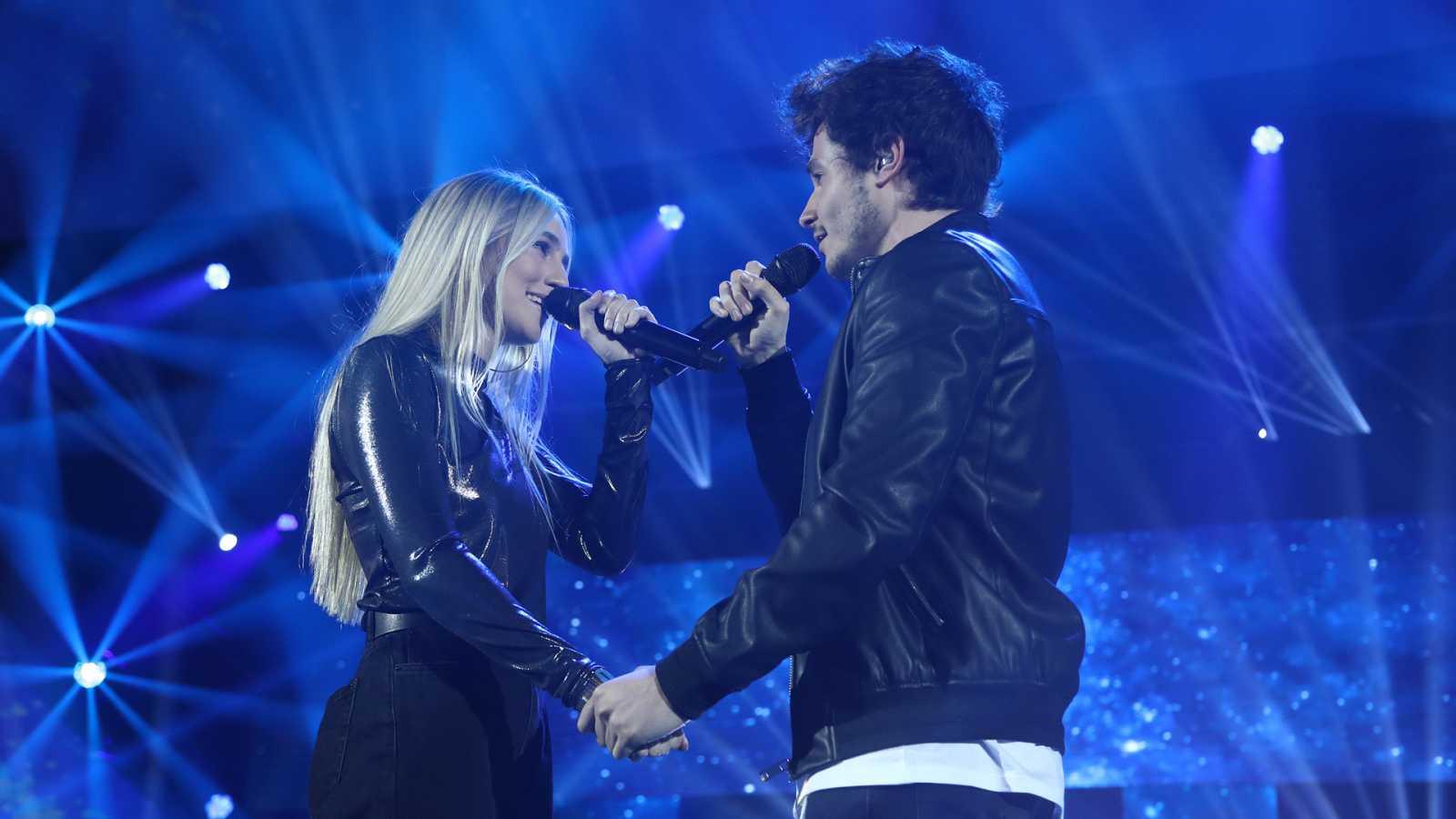 """OT 2018 - Miki y María cantan """"Quédate en Madrid"""" en la gala 4"""