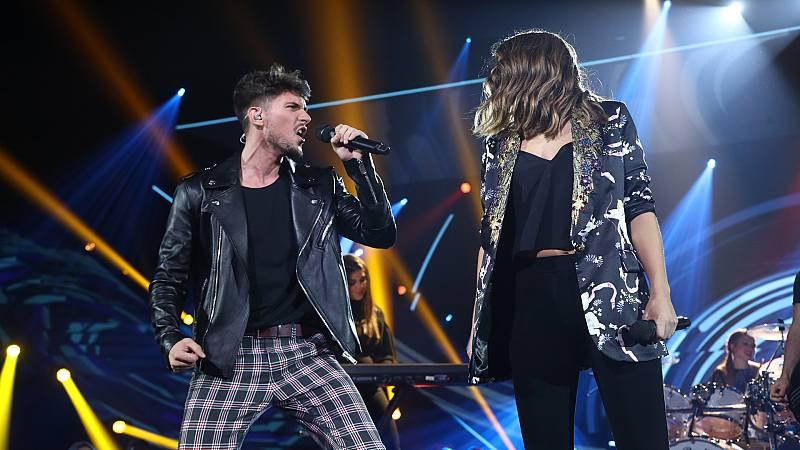 """OT 2018 - Carlos y Sabela cantan """"Estrella polar"""" en la gala 4"""