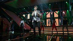 "OT 2018 - Álvaro Soler canta con 'OT 2018' ""La cintura"" en la gala 4"