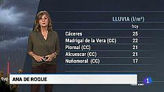 El tiempo en Extremadura - 18/10/18