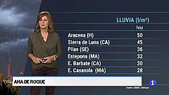 El timepo en Andalucía - 18/10/2018