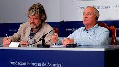 Wielicki y Messner reivindican la esencia del alpinismo