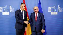 """Sánchez asegura que la confianza de la UE en los Presupuestos es """"muy importante"""""""