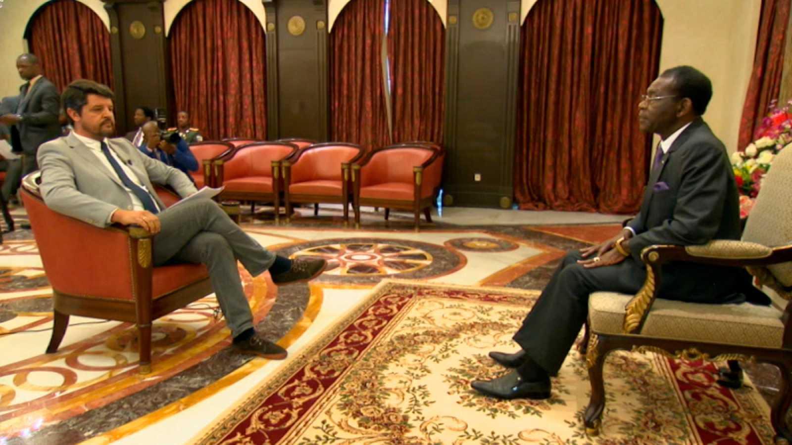 Entrevista íntegra de TVE a Teodoro Obiang