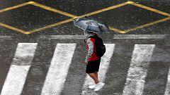 Precipitaciones persistentes y localmente fuertes o muy fuertes