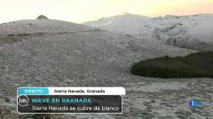 La Mañana - Sierra Nevada se cubre de blanco