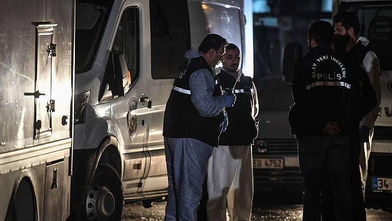Los forenses turcos buscan restos de Khashoggi en una furgoneta