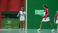 Pelota - Campeonato del Mundo 2018 de Frontenis Femenino Semifinal: España - Francia