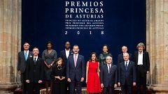 Los mejores momentos de la entrega de los Premios Princesa de Asturias 2018
