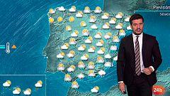 Fuertes lluvias en el sur y este peninsular