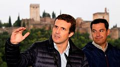 Casado avisa a Sánchez e Iglesias que en España no puede mandar un preso