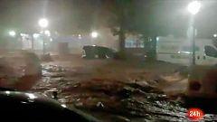 Al menos un desaparecido en las graves inundaciones en Tebas y Campillos, en Málaga