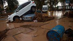 El temporal de lluvia deja un bombero muerto y graves inundaciones en Málaga