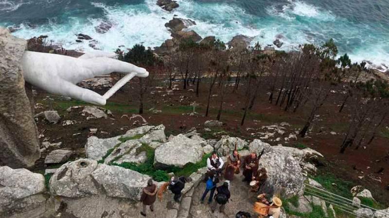 Dfiesta en La 2 - La fiesta de la Arribada en Baiona (Pontevedra) - ver ahora