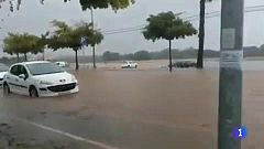 En Vinaroz, Castellón, la lluvia hizo saltar todas las alarmas