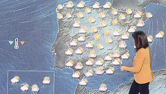 Chubascos en el suroeste y Canarias