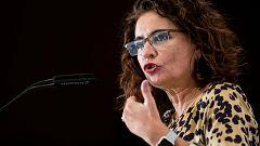 """Montero insiste en que el Gobierno """"no delega"""" la negociación presupuestaria"""