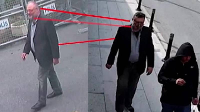 Un agente saudí salió del consulado disfrazado de Khashoggi