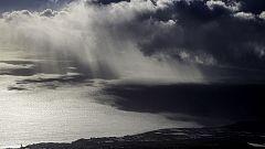Chubascos que podrían ser fuertes localmente en las Islas Canarias orientales