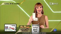 Sorteo ONCE - 22/10/18
