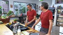 Torres en la cocina - Crema de setas. Stroganoff de cerdo