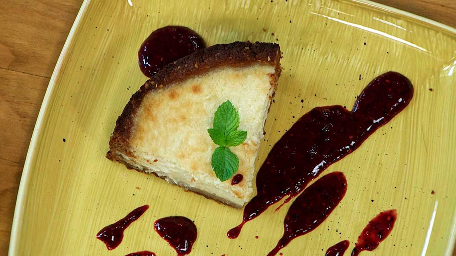 Torres en la cocina - Tarta cremosa de queso