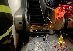 Al menos 24 hinchas del CSKA heridos en Roma tras romperse una escalera mecánica en el metro